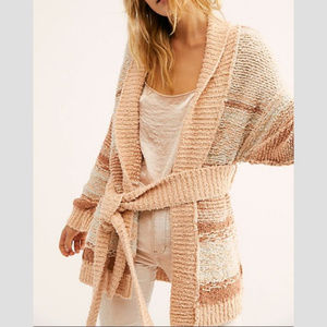NWT Free People Cozy Cabin Cardigan Sweater S M